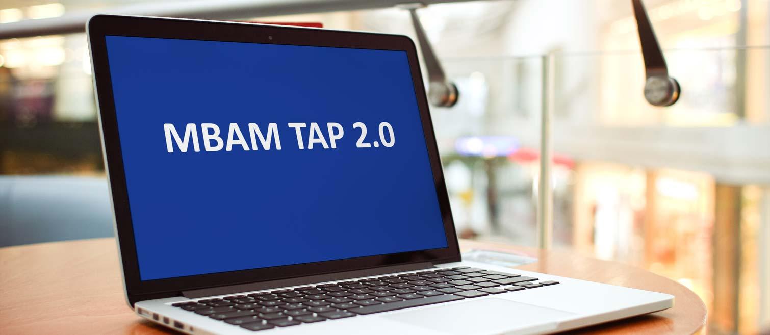 MBAM TAP 2.0 (Bild: Mockdrop.io)