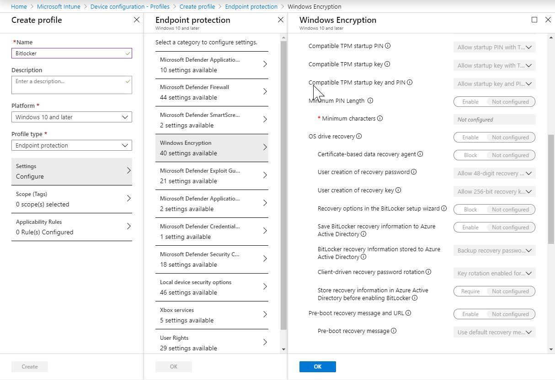 Bitlocker Microsoft Azure Cloud Integration - Windows Encryption (Bild: Microsft / FB Pro)