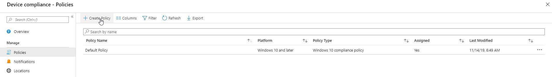 Bitlocker Microsoft Azure Cloud Integration - Policy (Bild: Microsft / FB Pro)